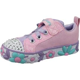 Skechers Daisy Lites Jr 10965N-PKMT shoes pink 1