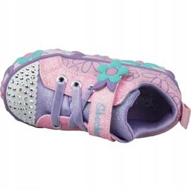 Skechers Daisy Lites Jr 10965N-PKMT shoes pink 2