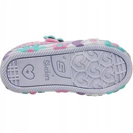 Skechers Daisy Lites Jr 10965N-PKMT shoes pink 3