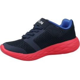 Skechers Go Run 600 Jr 97860L-NVRD shoes navy 1