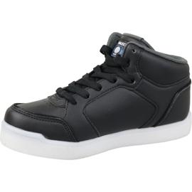 Skechers Energy Lights Jr 90622L-BLK shoes black 1
