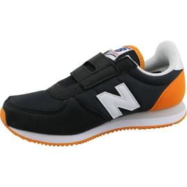 New Balance Jr PV220BKO shoes black 1