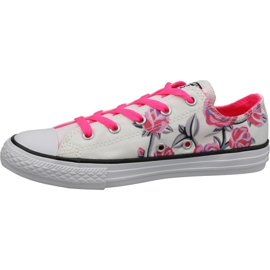 Converse C. Taylor All Star Jr 663624C shoes white 1