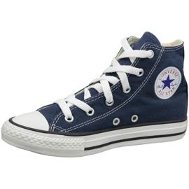 Converse C. Taylor All Star Youth Hi Jr 3J233 shoes navy 1