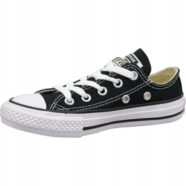 Converse C. Taylor All Star Youth Ox Jr 3J235C shoes black 1