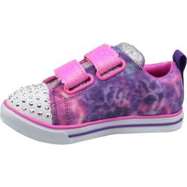 Skechers Sparkle Lite Jr 20147N-PRMT shoes pink 1