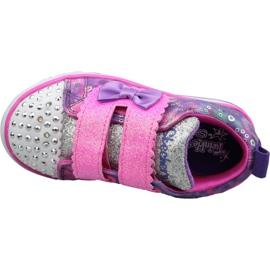 Skechers Sparkle Lite Jr 20147N-PRMT shoes pink 2