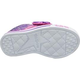 Skechers Sparkle Lite Jr 20147N-PRMT shoes pink 3