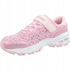 Skechers D'Lites Jr 664086L-LTPK shoes pink 1