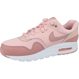 Nike Air Max 1 Gs Jr AQ3188-600 shoes pink 1