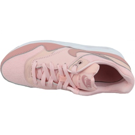 Nike Air Max 1 Gs Jr AQ3188-600 shoes pink 2
