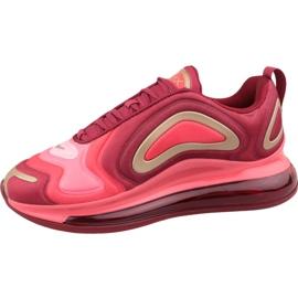 Nike Air Max 720 Gs Jr AQ3195-600 shoes red 1