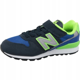 New Balance Jr YV996DN shoes blue multicolored 1