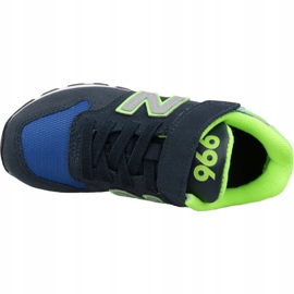 New Balance Jr YV996DN shoes blue multicolored 2