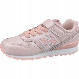 New Balance Jr YV996GB shoes pink 1