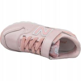 New Balance Jr YV996GB shoes pink 2