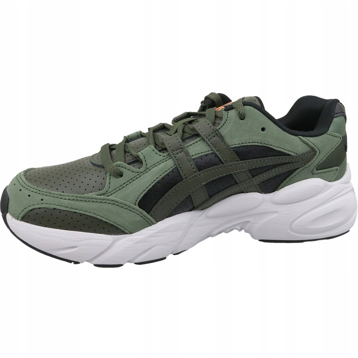 green asics shoes