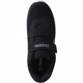 Kappa Cracker Ii Jr 260647K 1110 shoes black 1