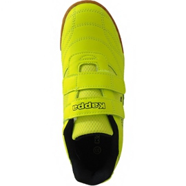 Kappa Kickoff Oc Jr 260695K 4011 shoes multicolored yellow 1