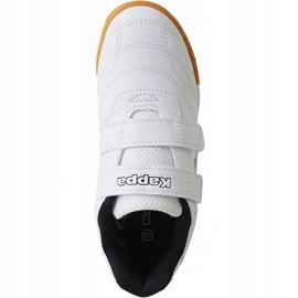 Kappa Kickoff Jr 260509K 1011 shoes white 1