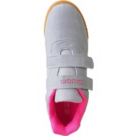 Kappa Kickoff Jr 260509K 1522 shoes pink grey 1