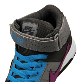 Nike Sb Mogan Mid 2 Gs Jr 645025-054 shoes multicolored 3