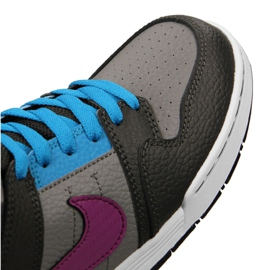 Nike Sb Mogan Mid 2 Gs Jr 645025-054 shoes multicolored 4