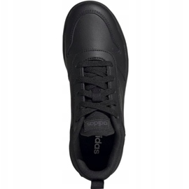 Adidas Tensaur Jr EF1086 shoes black 1