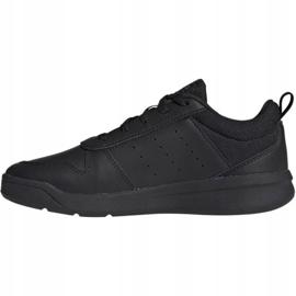 Adidas Tensaur Jr EF1086 shoes black 2