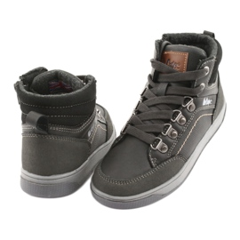 Lee Cooper high sport shoes 19-29-081 gray grey 4
