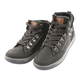 Lee Cooper high sport shoes 19-29-081 gray grey 3