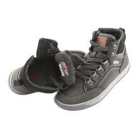 Lee Cooper high sport shoes 19-29-081 gray grey 5