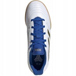 Adidas Predator 19.4 In Sala Jr EG2829 indoor shoes white white 1