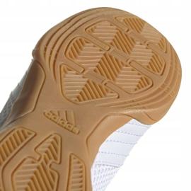 Adidas Predator 19.4 In Sala Jr EG2829 indoor shoes white white 5