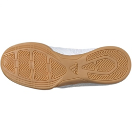 Adidas Predator 19.4 In Sala Jr EG2829 indoor shoes white white 6