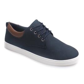 Casual Men's Sneakers 655 Navy 1