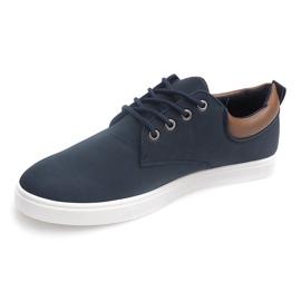 Casual Men's Sneakers 655 Navy 2