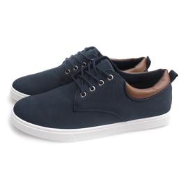 Casual Men's Sneakers 655 Navy 3