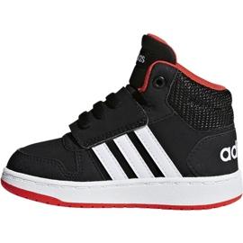 Adidas Hoops Mid 2.0 I Jr B75945 shoes black 2