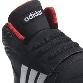 Adidas Hoops Mid 2.0 I Jr B75945 shoes black 3