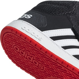 Adidas Hoops Mid 2.0 I Jr B75945 shoes black 4