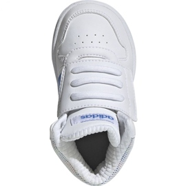 Adidas Hoops Mid 2.0 I Jr EE8550 shoes white 1
