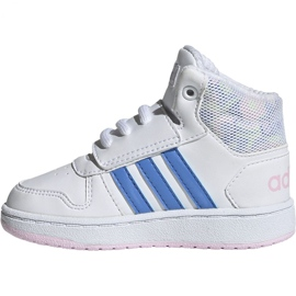 Adidas Hoops Mid 2.0 I Jr EE8550 shoes white 2
