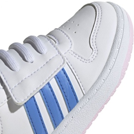 Adidas Hoops Mid 2.0 I Jr EE8550 shoes white 3