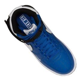 Nike Air Force 1 High LV8 2 Jr CI2164-400 shoes white-blue 3