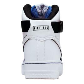 Nike Air Force 1 High LV8 2 Jr CI2164-400 shoes white-blue 4
