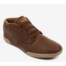 Brown men's sneakers 15M787 1