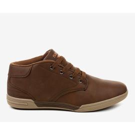 Brown men's sneakers 15M787 2