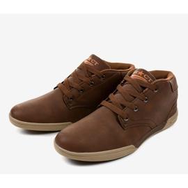 Brown men's sneakers 15M787 3