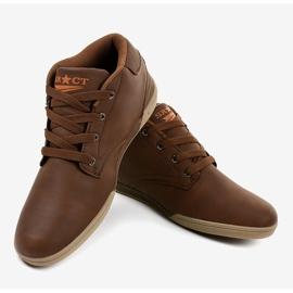 Brown men's sneakers 15M787 4